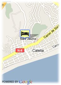 map-Hotel Top Calella Palace