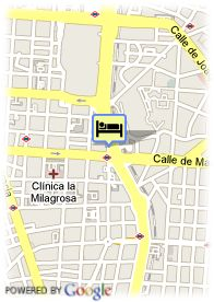 map-Hotel Hesperia Madrid