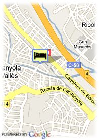 map-Hotel Serhs Campus