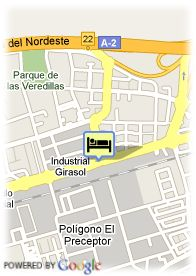 map-Hostal Torrejon