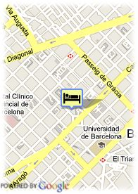 map-Hotel Eurostars Bcn Design
