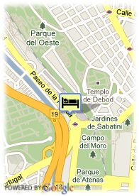 map-Hotel Florida Norte