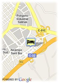 map-Hotel Frontair Congress