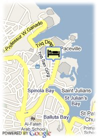map-The Alexandra Hotel Malta