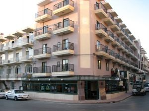 The Euroclub Hotel in Malta