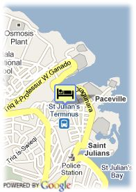 map-St.Julian's Bay Hotel