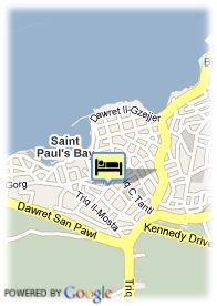 map-The Bugibba Hotel