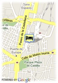 map-Hotel Suites Foxa 25