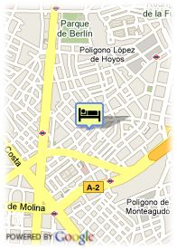 map-Apartamentos Internacional Suites