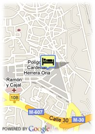 map-Hotel Villamadrid
