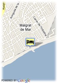 map-Hotel Sorra D´Or Beach Club