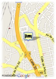 map-Foxa M30 Suites and Resort
