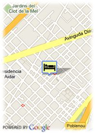 map-Hotel Confortel Barcelona