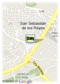 map-Hostal Juan XXIII