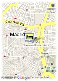 map-Hotel Villa Real