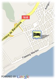 map-Hotel Bella Playa