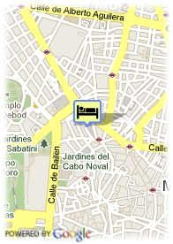 map-Hotel El Coloso