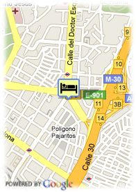 map-Hotel Claridge