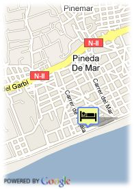 map-Hotel Top Pineda Palace