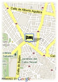 map-Espahotel Gran Via Madrid