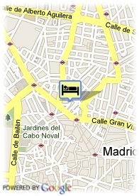 map-Best Western Hotel Los Condes