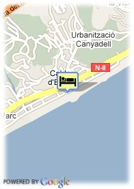 map-Hotel Colon Thalasso Termal