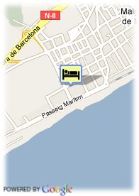 map-Hotel Planamar