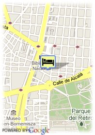 map-Hotel Jardin de Recoletos
