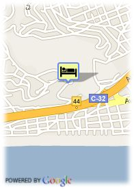 map-Hotel Gran Rey Don Jaime