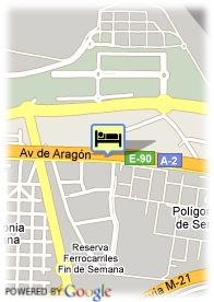 map-Auditorium Madrid Hotel