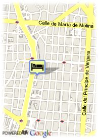 map-Hotel Husa Serrano Royal