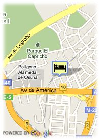 map-Hotel Apart. Convencion Barajas