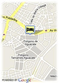map-Hotel Egido via Lusitana