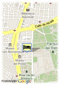 map-Hotel Esp Suites Jeronimos