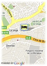 map-Hotel Eurostars Gran Madrid