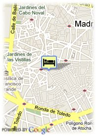 map-Hostal Apolo