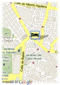 map-Hotel Senator Gran Via 70 Spa