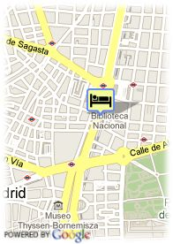 map-Apartamentos Recoletos