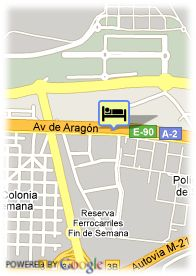 map-Hotel Auditorium Madrid