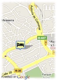 map-Hotel Mirasierra Suites