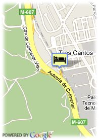 map-Foxa Tres Cantos Suites & Resort