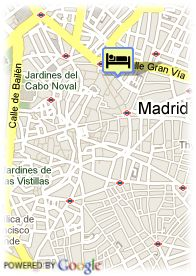 map-Hotel II Castillas