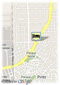 map-Hotel Las Artes