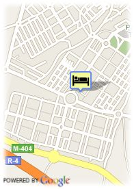 map-Hotel Reston Valdemoro
