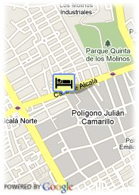 map-Hotel Eco Alcala Suites