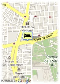 map-Hotel Hospes Madrid