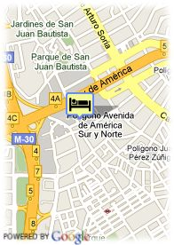 map-Hotel Travelodge Torrelaguna