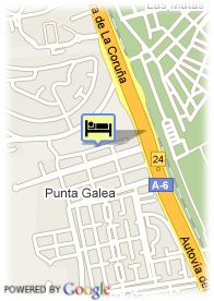 map-Hotel Travelodge Las Rozas