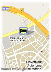 map-Hotel High Tech Nueva Castellana