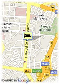 map-Ayre Gran Hotel Colon